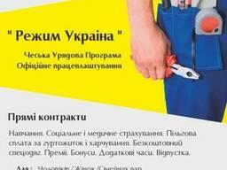 2-х летняя рабочая карта в Чехию