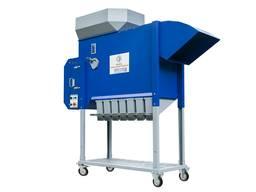 Aerodynamic grain separator ASM-5