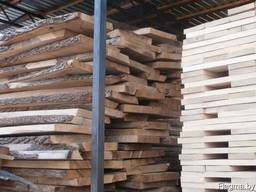 Board oak, beech, ash of those. drying 8-10% moisture
