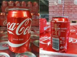 Coca cola, redbull and other energy drinks