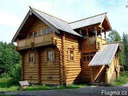 Деревянные дома. Оцилиндровка, дикий сруб. - photo 4