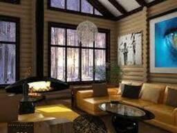 Дома выполненные из клееного бруса Карпатской смереки