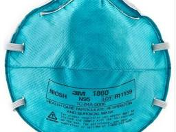 The filtering half mask Respirator 3M 1860 (N95)