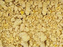 Krmný koncentrát kukuřice (koláče z kukuřičných klíčků)