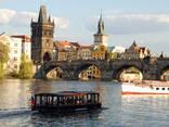 Круиз - прогулка на кораблике по реке Влтаве - фото 7