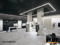 Lighting system for Kraft Led suspended ceilings from the ma - фото 7