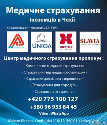 Медицинское страхование в Чехии