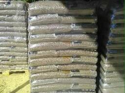 Пеллеты древесные 6-8мм. Producer sells wood pellets 6-8mm.