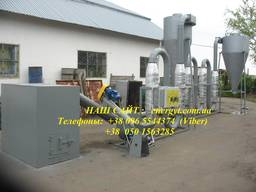 Equipment for production of fuel briquettes from sawdust, hu