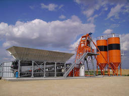 Бетонный завод стационарный Sumab Т-60 ( Швеция)