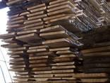 Unedged oak boards - фото 1